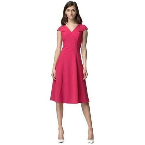 Sukienka midi - fuksja - s60 marki Nife