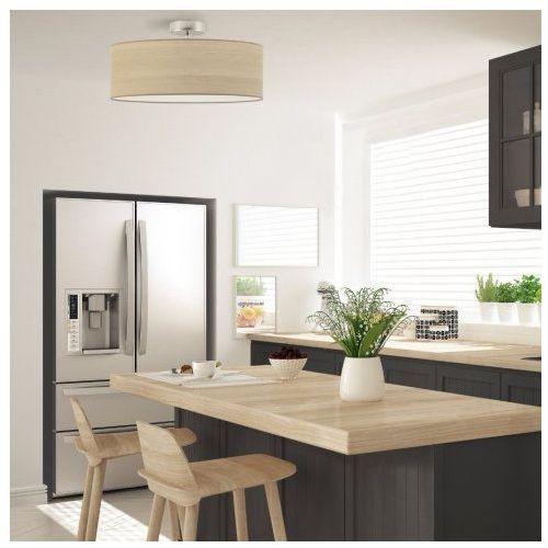 Plafoniera do kuchni wenecja eco fi - 50 cm - kolor dąb bielony marki Lysne