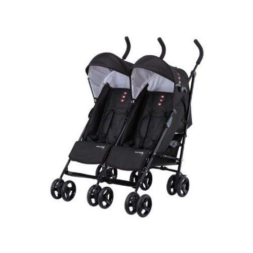 knorr-baby Wózek podwójny Side by Side czarny