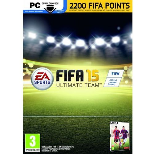 Karta pre-paid fifa 15 2200 points marki Electronic arts