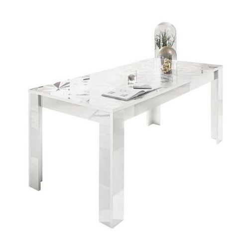Fato luxmeble Stół 180 cm prestige biały wysoki połysk