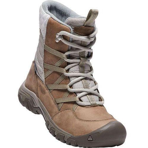 Keen hoodoo iii lace up buty kobiety brązowy/biały 38 2017 buty casualowe