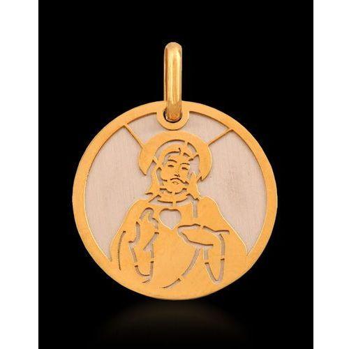 ?medalik ?,żółte i białe złoto 585/14k ()