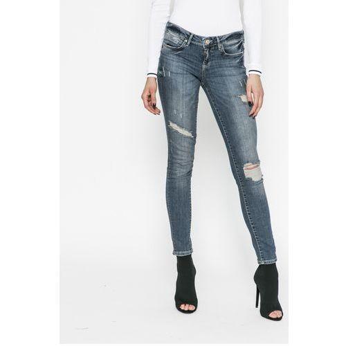 - jeansy jegging marki Guess jeans