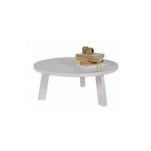 Woood :: stolik rhonda biały 50 cm - stolik 50cm (biały)