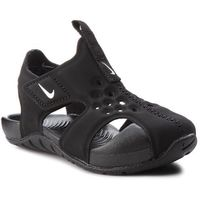 Sandały - sunray protect 2 (td) 943827 001 black/white marki Nike