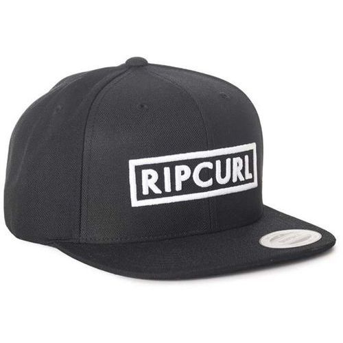 Czapka z daszkiem - undertow box snap back cp black (90) rozmiar: tu marki Rip curl