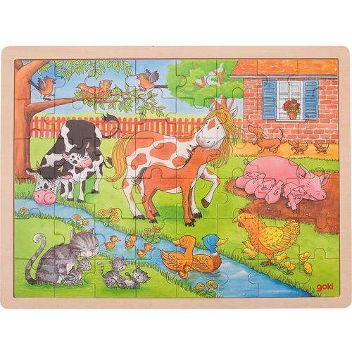 Puzzle duże Życie na wsi (4013594577458)