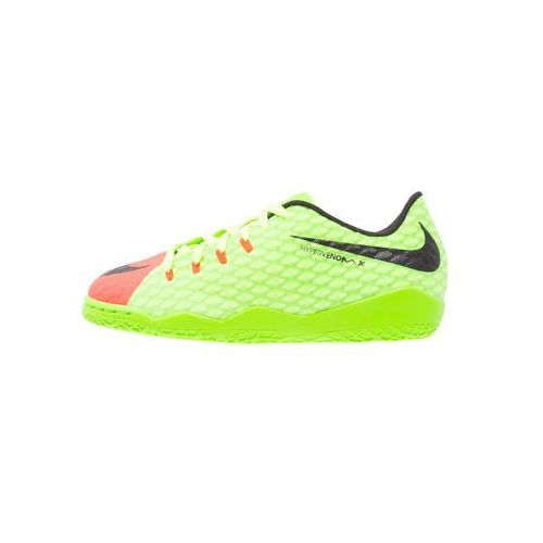 Nike Performance HYPERVENOMX PHELON III IC Halówki electric green/black/hyper orange/volt