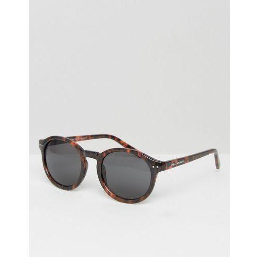 Cheap Monday Circle Round Sunglasses - Brown