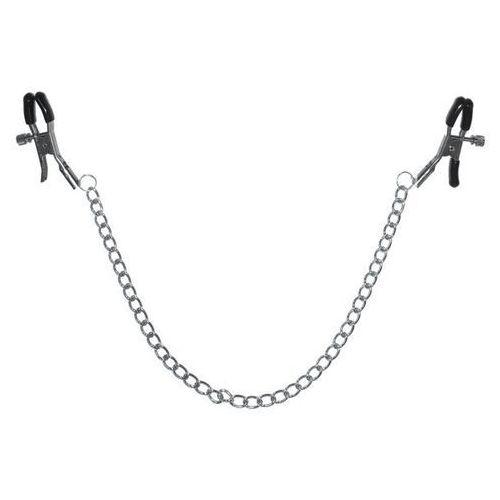 Sex&mischief Zaciski na sutki z łańcuszkiem - s&m chained nipple clamps