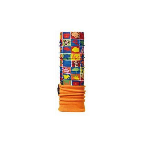 Buff Komin polar baby disney squares - squares \ pomarańczowy (8428927049629)