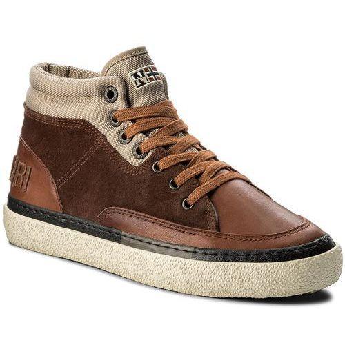 Sneakersy NAPAPIJRI - Jakob 15841109 Cognac N45, kolor brązowy