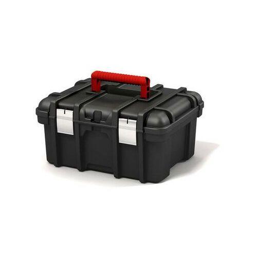 """KETER Skrzynka narzędziowa 16"""" Power Tool Box black - DARMOWA DOSTAWA OD 95 ZŁ!"""