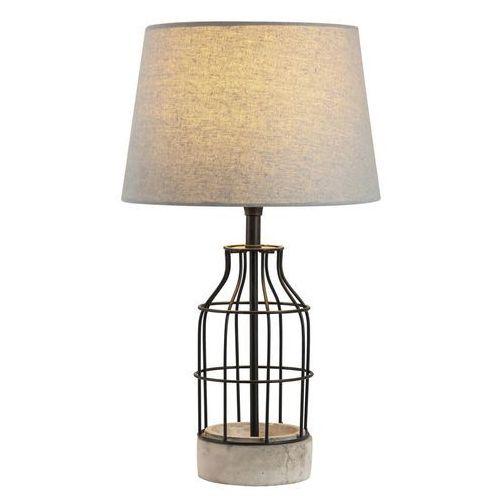 Rabalux Lampa lampka stołowa ava 1x40w e27 szary/czarny 4385