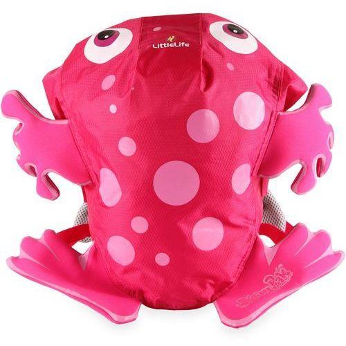Plecak LittleLife Swim pak żaba różowa, kolor różowy