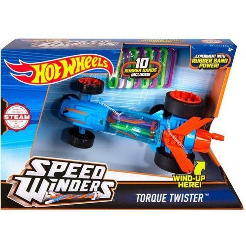 Autonakręciak i wyscigówki, niebieski marki Hot wheels