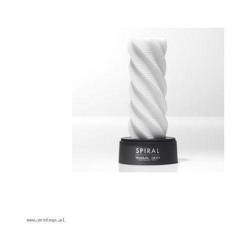 3d spiral white masturbator trójwymiarowa spirala biały marki Tenga