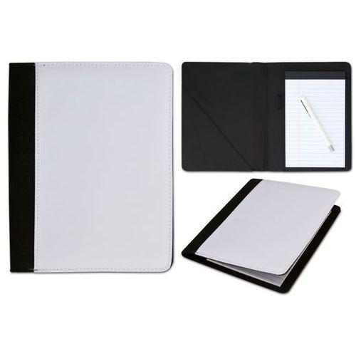 Grawerton Notes czarny memo średni 14,8x23 cm z okładką do nadruku