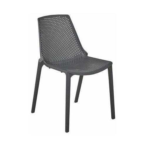 Telehit garden Krzesło ogrodowe stockholm plastikowe antracytowe