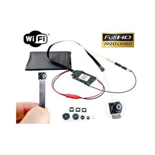 Spy Szpiegowska mini-kamera full hd (do ukrycia/zabudowy) wifi/p2p (cały świat!) + maskownice + zapis...