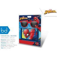 Euroswan Portfel + okulary przeciwsłoneczne spiderman