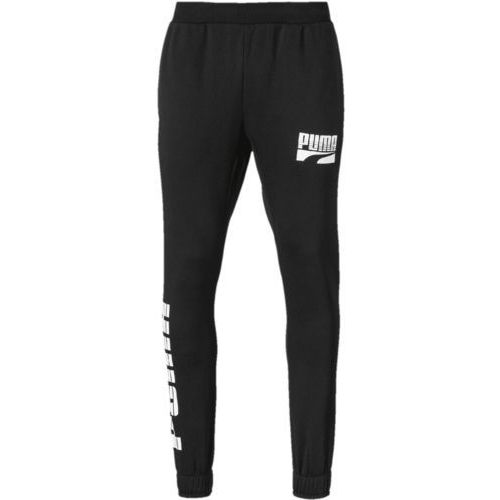rebel bold pants cl fl puma black m marki Puma