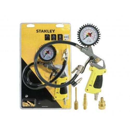 Pistolet do pompowania kół manometrem marki Stanley
