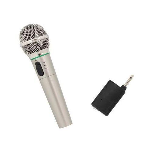 Mikrofon bezprzewodowy i przewodowy 2w1 karaoke