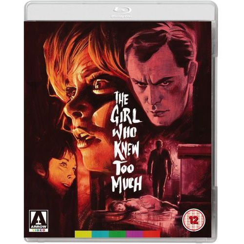 The girl who knew too much (includes dvd) wyprodukowany przez Arrow video