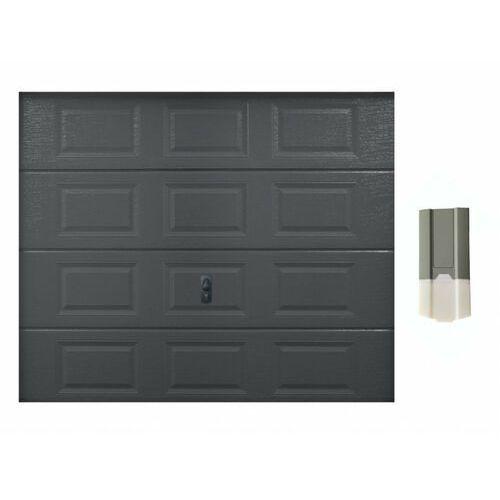Zestaw brama garażowa segmentowa speos antracytowy + napęd eco line marki Vente-unique