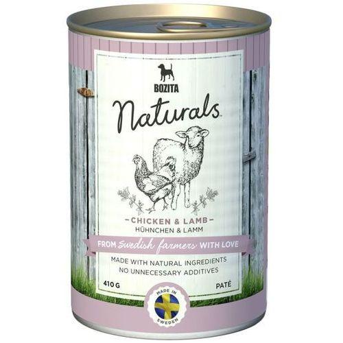 Bozita  naturals pate chicken&lamb 410g