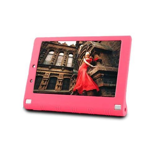 Etui silikonowe do Lenovo Yoga 2 1050 - Różowy, kolor różowy