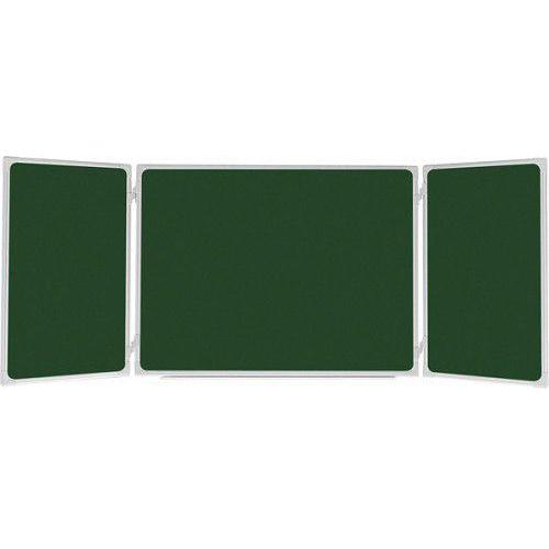 TANIEJ!Tablica 2x3 rozkładana kredowa magnetyczna lakierowana 170x100/340cm, TRK1710 UKF