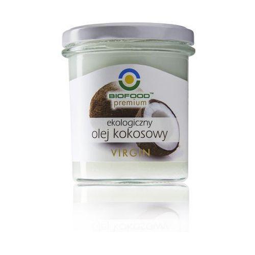 Olej kokosowy virgin bio 240g - marki Bio food. Tanie oferty ze sklepów i opinie.