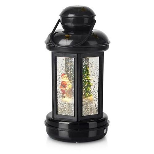 MarkslÖjd Błyszcząca latarnia dekoracyjna cosy led czarna (7330024575776)
