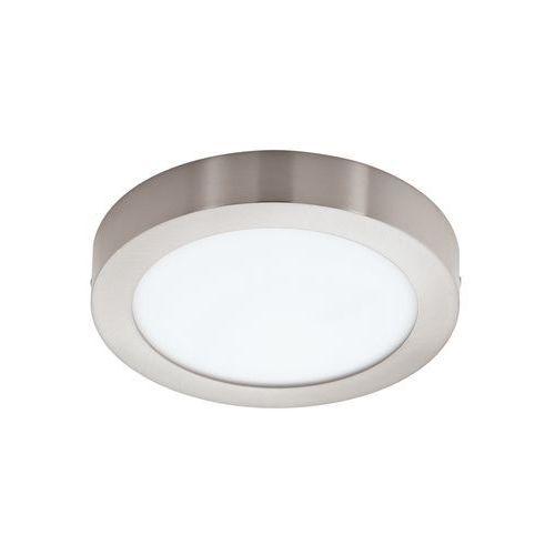 Plafon LAMPA sufitowa FUEVA 1 94525 Eglo natynkowa OPRAWA LED 16W okrągła nikiel satynowany
