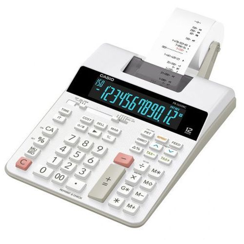 Kalkulator stołowy Casio FR 2650 T, ACCSFR265T2A (6287801)
