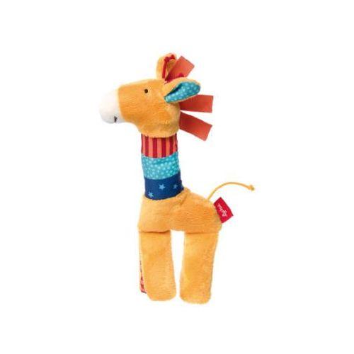 Sigikid playq - basic steps - chwytak/zabawka z pistrzałką - żyrafa (4001190414796)