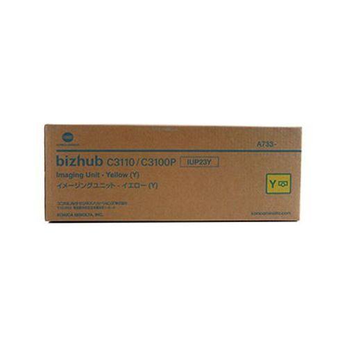 Bęben oryginalny iup-23y żółty do km bizhub c3100 p - darmowa dostawa w 24h marki Konica-minolta