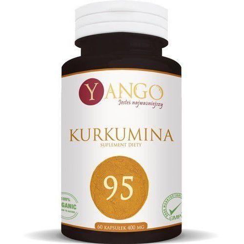Kurkumina95 - 60 kapsułek (ekstrakt + piperyna) Yango (lek pozostałe leki chorób układu pokarmowego)