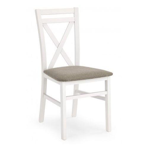 Stylizowane krzesło z drewna dariusz białe / gwarancja 24m / najtańsza wysyłka! marki Halmar