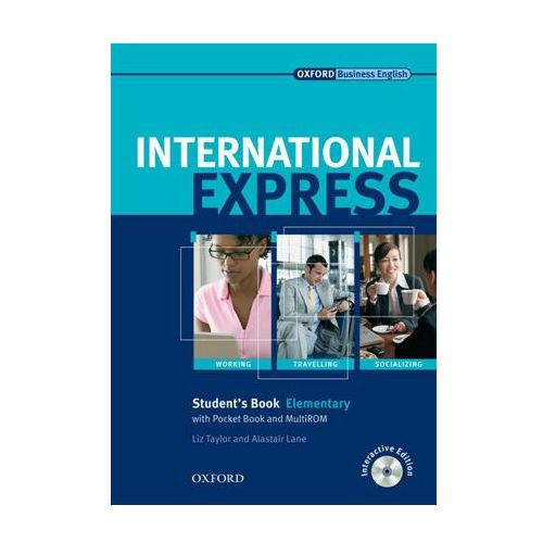International Express Elementary SB CD grat OXFORD podręcznik (2007)