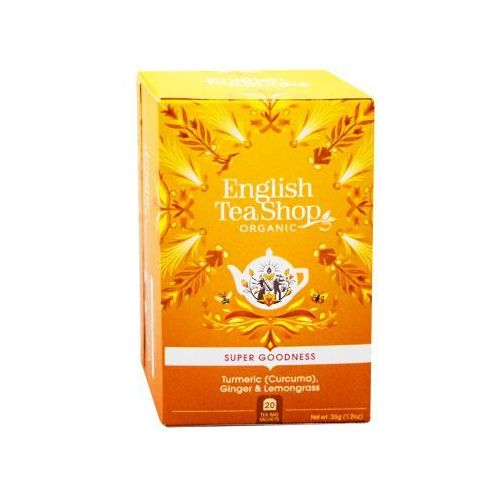 English tea shop Ets turmeric, ginger & lemongrass 20 saszetek