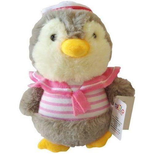 Pluszak pingwinek kajtuś różowy 22 cm marki Axiom