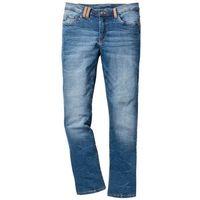 Dżinsy ze stretchem regular fit bootcut niebieski marki Bonprix