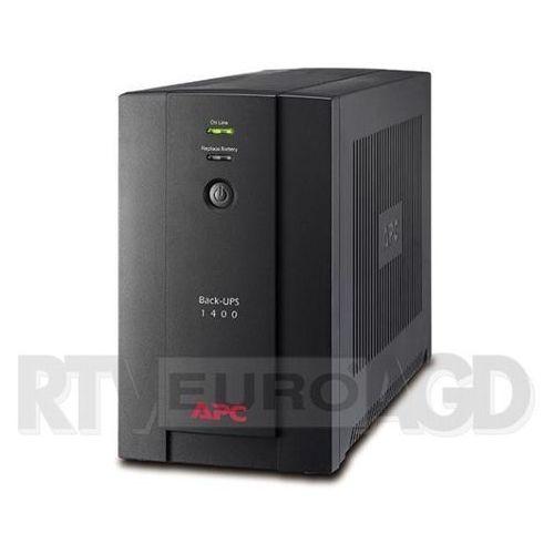 APC Back-UPS BX1400UI - produkt w magazynie - szybka wysyłka!, towar z kategorii: Zasilacze UPS