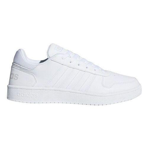 Adidas Buty męskie hoops całe białe