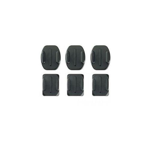 flat + curved adhesive mounts- zakrzywione i płaskie mocowania przylepne wyprodukowany przez Gopro