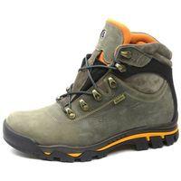 Trzewiki męskie trekkingowe Badura 4538, kolor szary